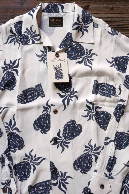 BY GLAD HAND PINEAPPLE - LONG SLEEVE SHIRTS WHITE