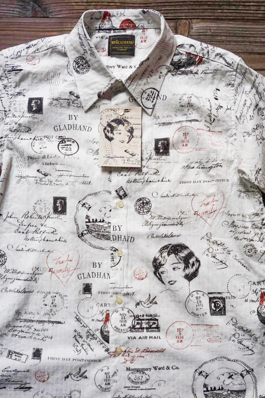 BY GLAD HAND LETTER - SHORT SLEEVE SHIRTS WHITE