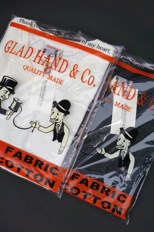 "GLAD HAND STANDARD V-NECK T-SHIRTS ""USED"""