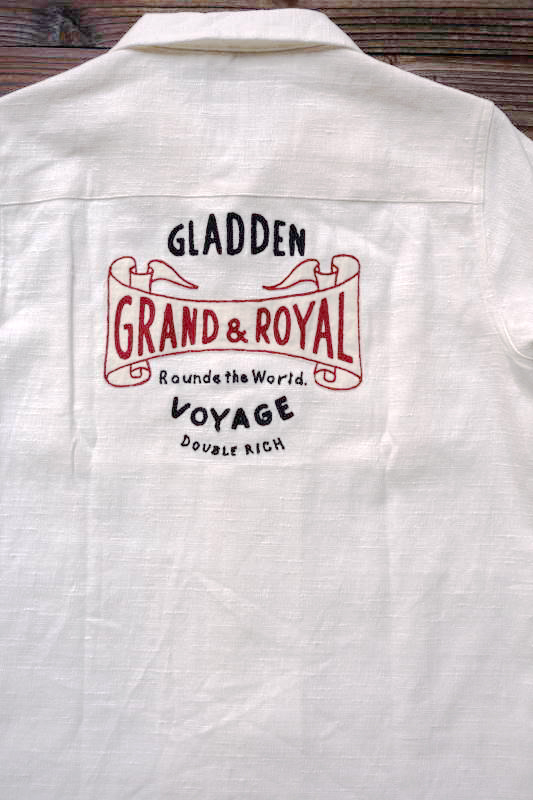 BY GLAD HAND VOYAGE - SHORT SLEEVE SHIRTS WHITE