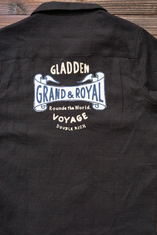 BY GLAD HAND VOYAGE - SHORT SLEEVE SHIRTS BLACK