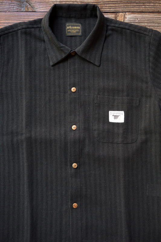 BY GLAD HAND RESORT - SHORT SLEEVE SHIRTS BLACK