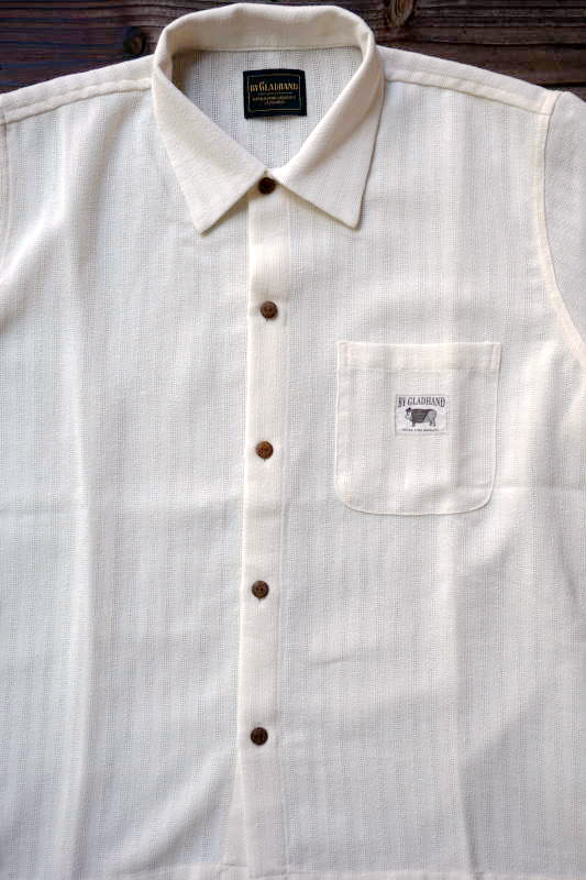 BY GLAD HAND RESORT - SHORT SLEEVE SHIRTS IVORY