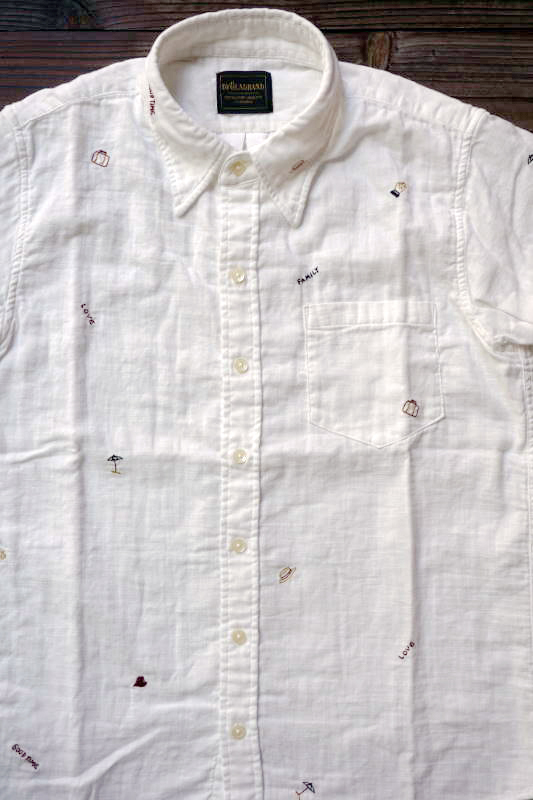 BY GLAD HAND TRAVEL - SHORT SLEEVE SHIRTS WHITE