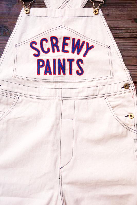 5 WHISTLE SCREWY PANTS WHITE