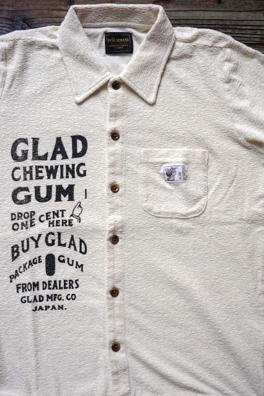 BY GLAD HAND GLAD CHEWING GUM - SHIRTS IVORY