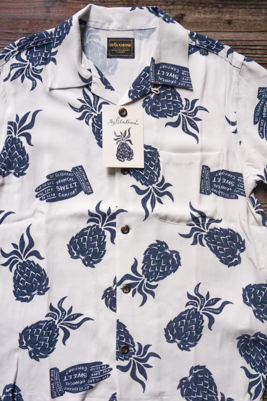 BY GLAD HAND PINEAPPLE - SHORT SLEEVE SHIRTS WHITE
