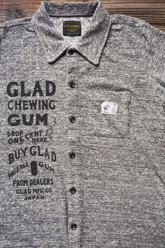 BY GLAD HAND GLAD CHEWING GUM - SHIRTS BLACK