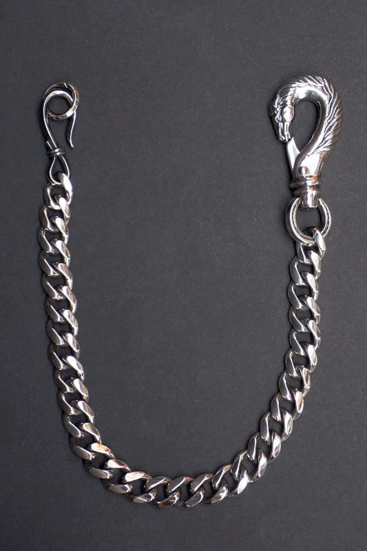 PEANUTS & Co. horse wallet chain horse × hook silver