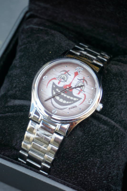 B.S.M.G. B.O. Watch METAL BELT SILVER CLOWN