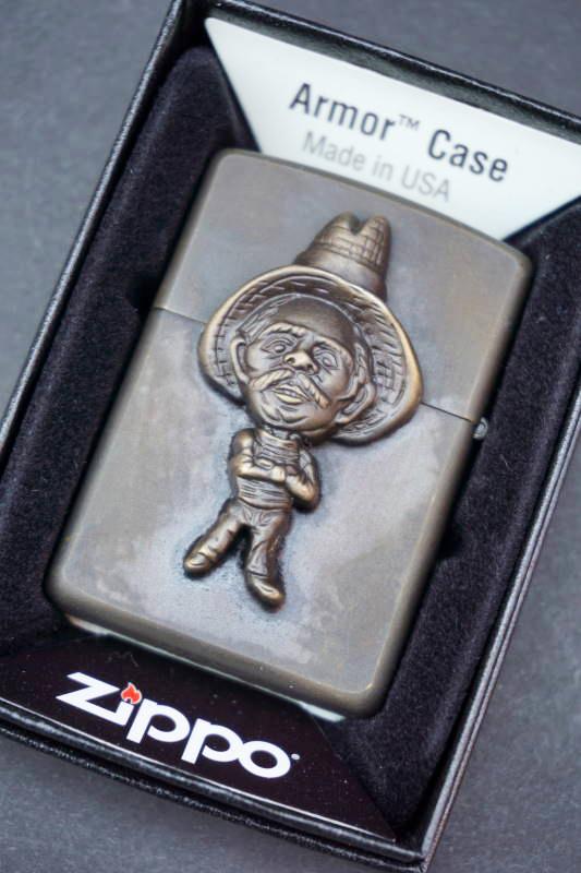 B.S.M.G. B.O. Armor Case Zippo BRS MEXICAN