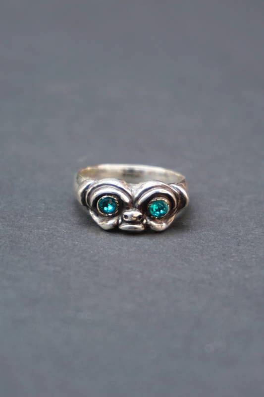 B.S.M.G. Bull Dog Ring Silver925