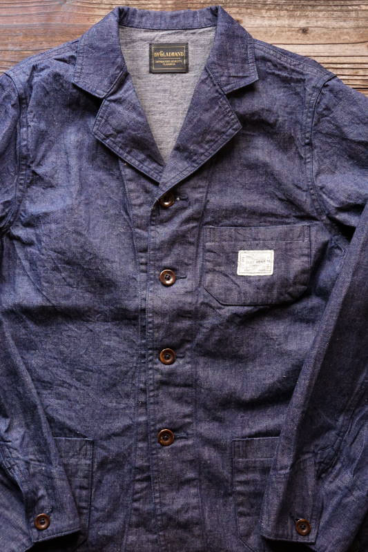 BY GLAD HAND 4730 - JACKET INDIGO