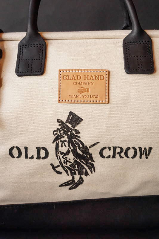 OLD CROW OLD MASON - BAG CANVAS IVR×BLK