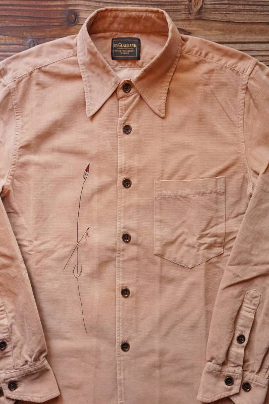 BY GLAD HAND SPIRITS - L/S SHIRTS BEIGE