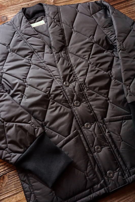 5 WHISTLE QUILT CARDIGAN BLACK