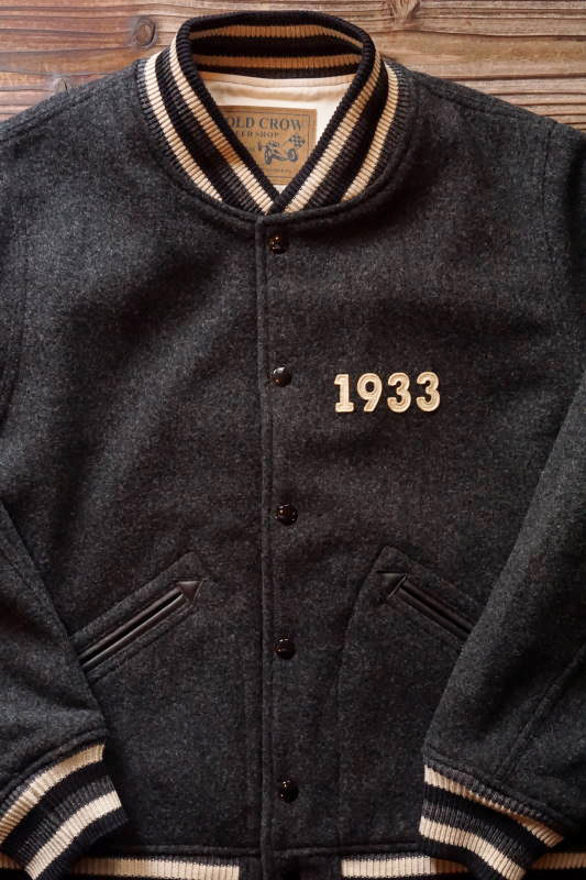 OLD CROW OLD CLUB - JACKET BLACK