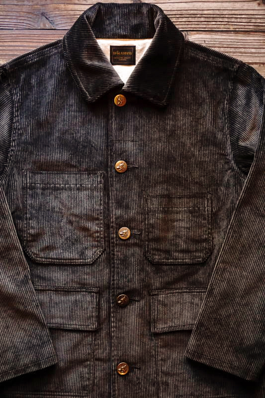 BY GLAD HAND LOWELL - HUNTING JACKET D.BROWN