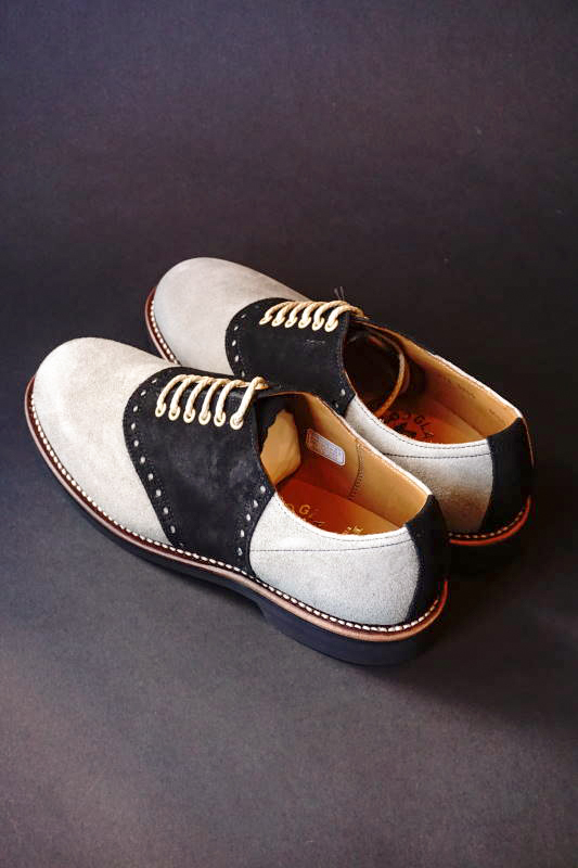 GLAD HAND × REGAL SADDLE SUEDE - SHOES GRY/BLK