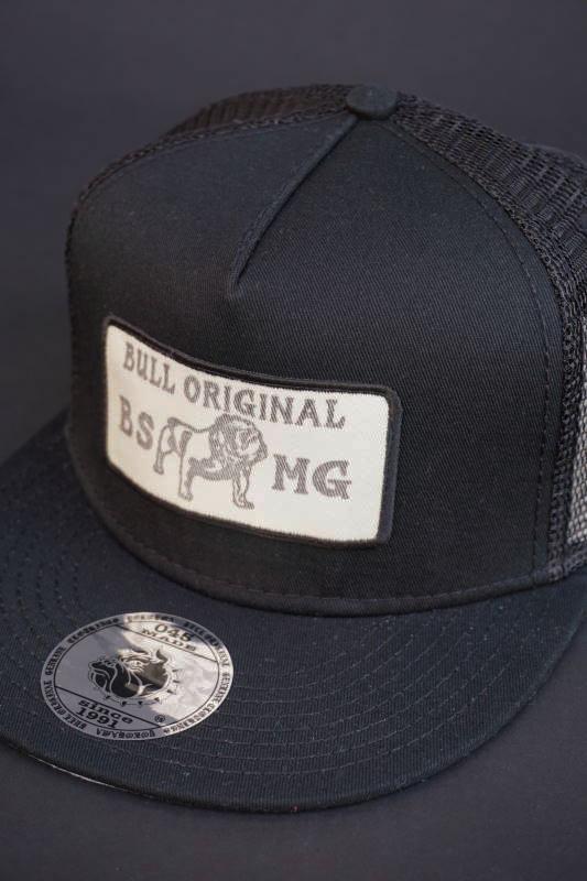 B.S.M.G. MESH - CAP BLK×BLK