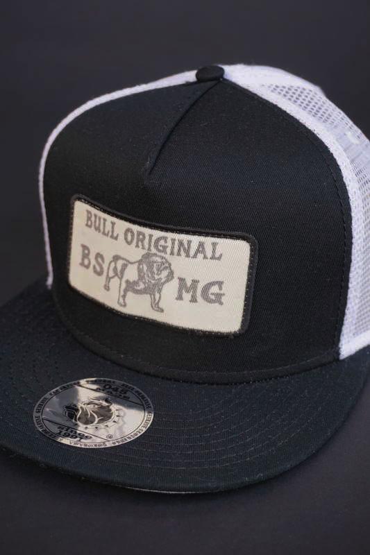 B.S.M.G. MESH - CAP BLK×WHT