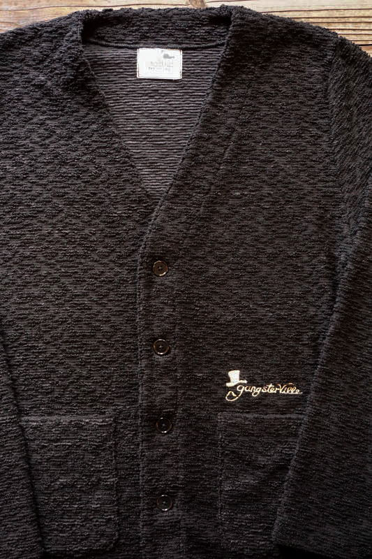 GANGSTERVILLE PAIL - CARDIGAN BLACK