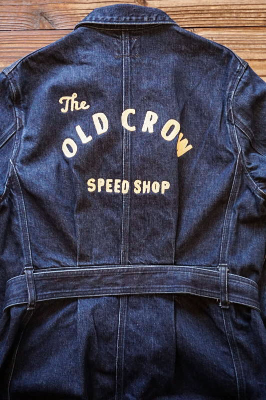 OLD CROW SPEED SHOP - COAT INDIGO