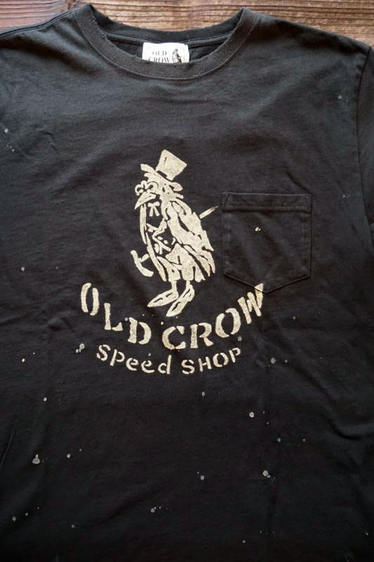 OLD CROW OLD CROW - S/S T-SHIRTS BLACK