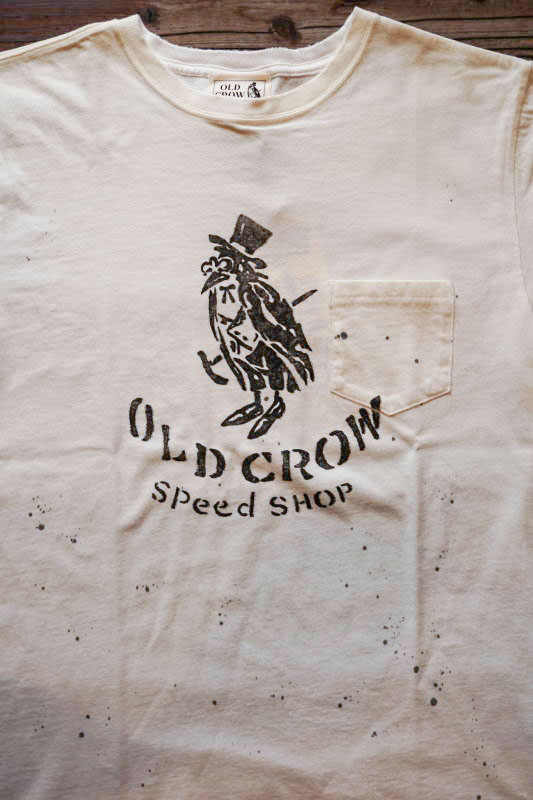 OLD CROW OLD CROW - S/S T-SHIRTS WHITE