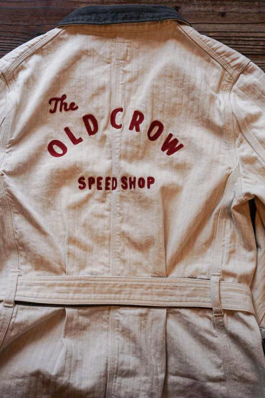 OLD CROW SPEED SHOP - COAT IVORY