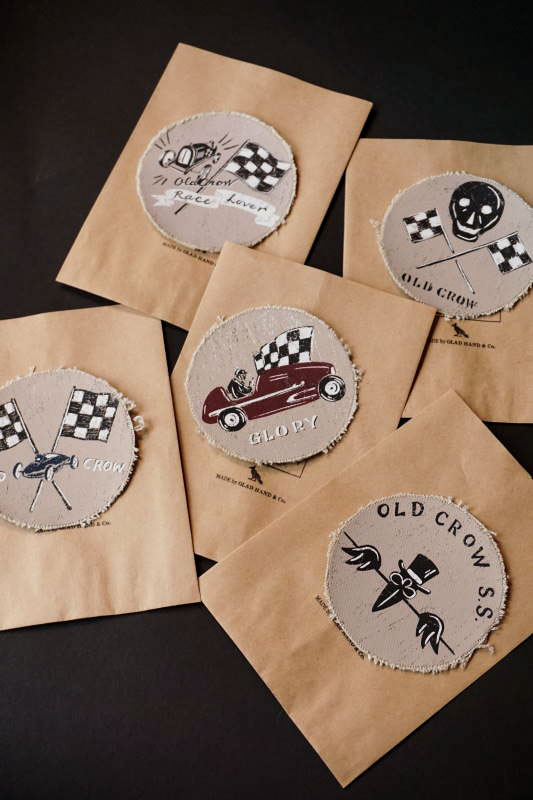 OLD CROW OLD RACING - PATCH