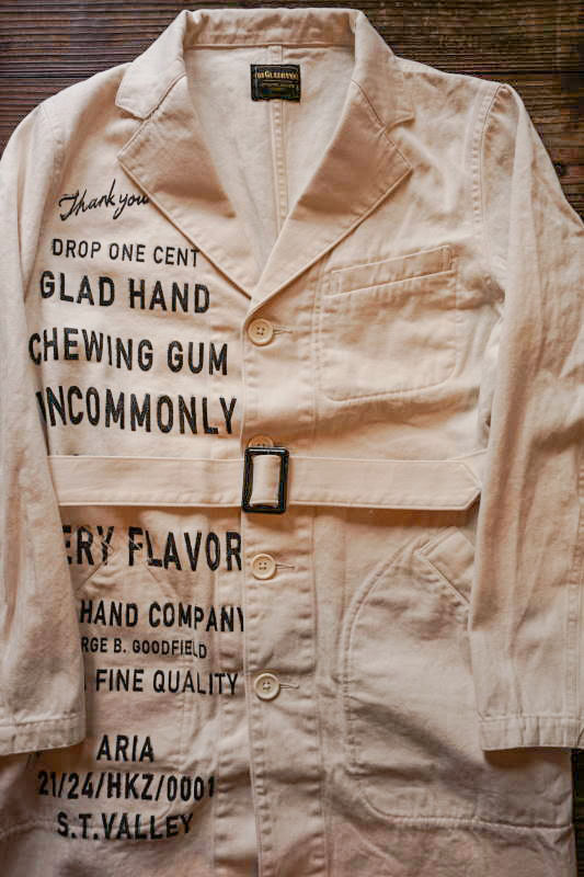 BY GLAD HAND GLAD CHEWING GUM - COAT LONG IVORY