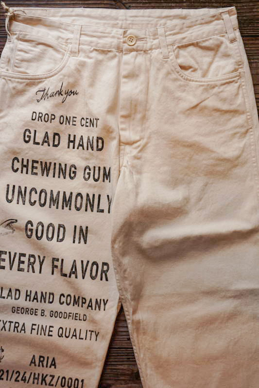 BY GLAD HAND GLAD CHEWING GUM - PANTS IVORY