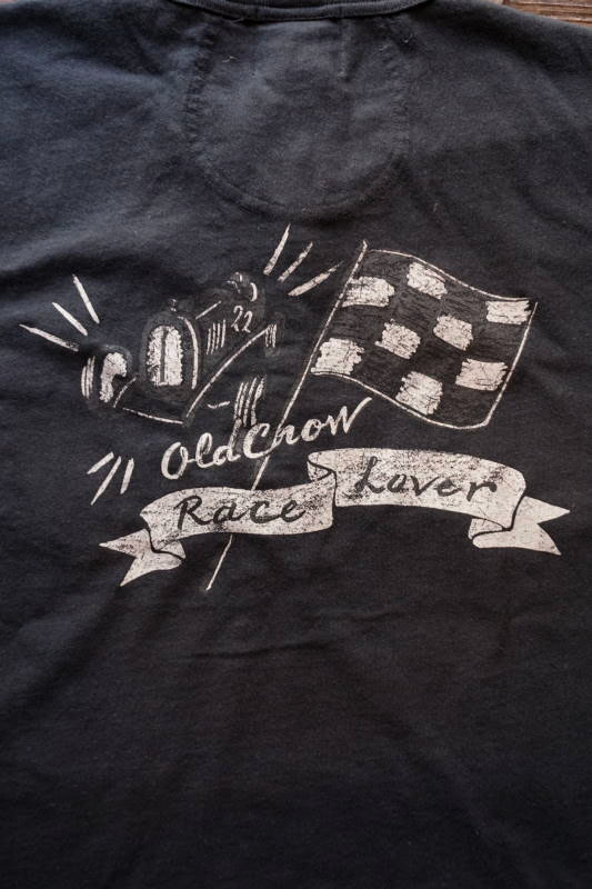 OLD CROW RACE LOVER - S/S HENRY T-SHIRTS BLACK