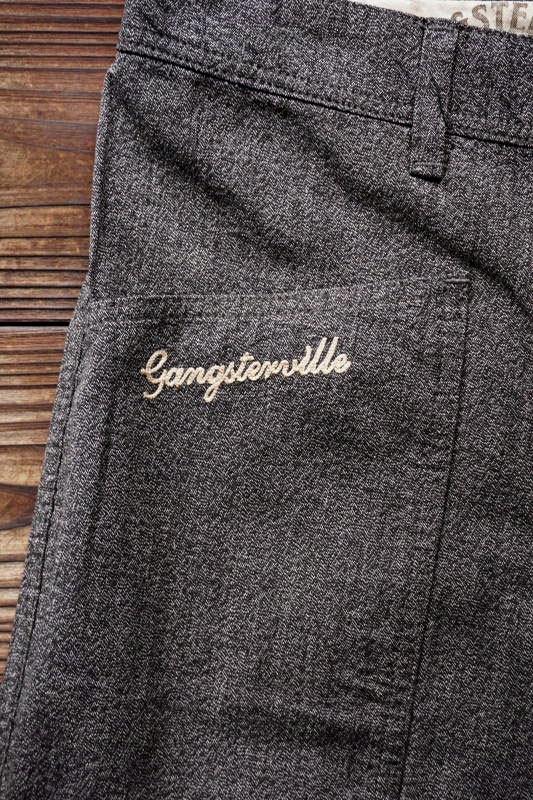 GANGSTERVILLE JACKPOT - PANTS BLACK