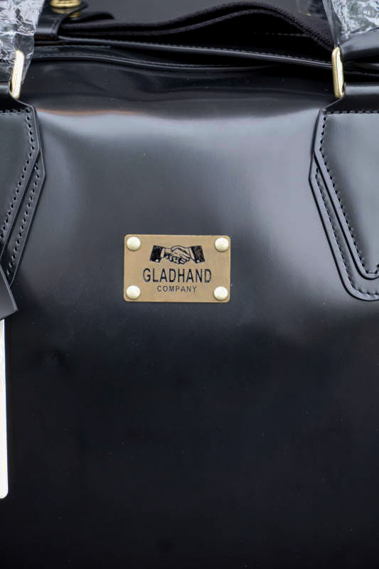 "GLAD HAND×PORTER GH BAGGAGE BLACK ""Medium """