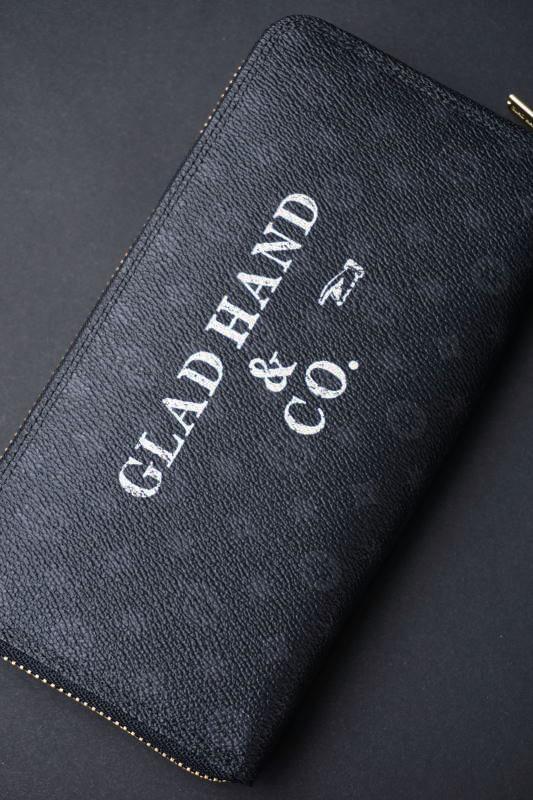 GLAD HAND×PORTER GH - BELONGINGS ZIP WALLET FAMILY CREST SP #002