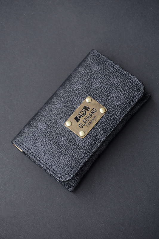GLAD HAND×PORTER GH - BELONGINGS CARD CASE FAMILY CREST SP #002