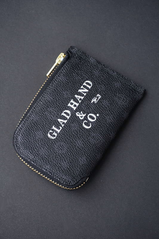 GLAD HAND×PORTER GH - BELONGINGS COIN CASE FAMILY CREST SP #002