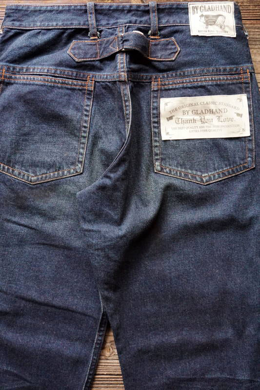 "BY GLAD HAND GLADDEN - DENIM ""TYPE-2"" ORANGE USED"