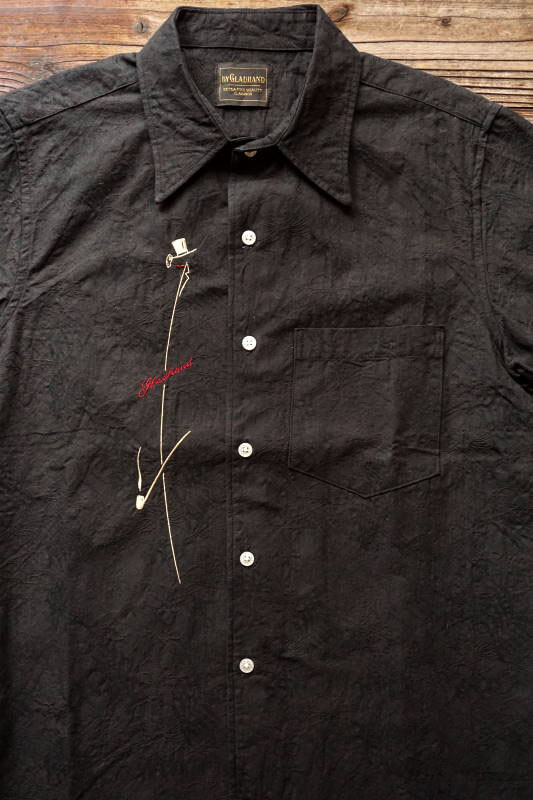 BY GLAD HAND VOGUE - S/S SHIRTS BLACK