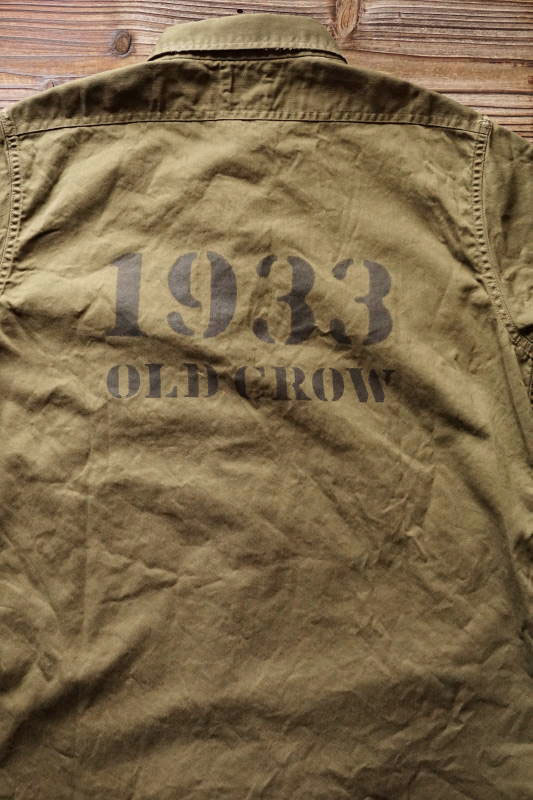 OLD CROW 1933 - S/S SHIRTS KHAKI