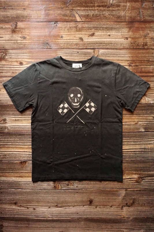OLD CROW OLD SKULL - S/S T-SHIRTS BLACK