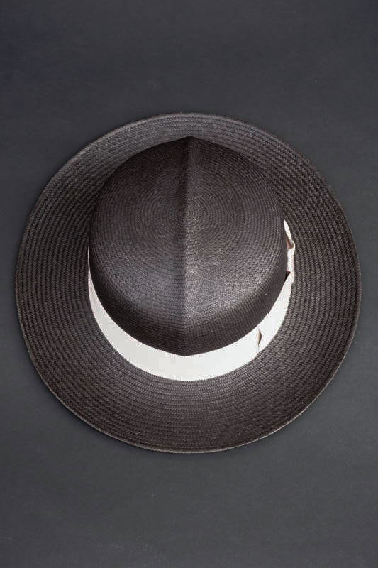 "GLAD HAND & Co. - HAT WILLIAM ""PANAMA"" BLACK"