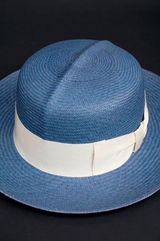 "GLAD HAND & Co. - HAT WILLIAM ""PANAMA"" BLUE"