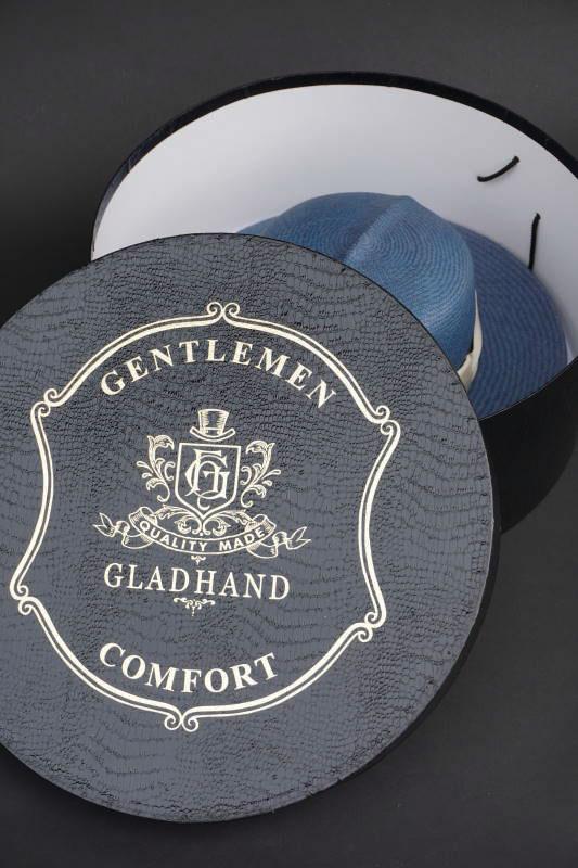"GLAD HAND & Co. - HAT WILLIAM ""PANAMA"" BLUE"