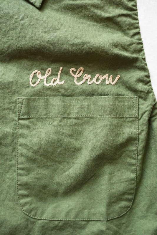 OLD CROW HIGHLAND PARK - BOWLING SHIRTS GREEN