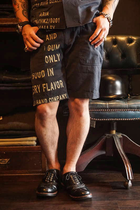 BY GLAD HAND GLAD CHEWING GUM - SHORTS BLACK