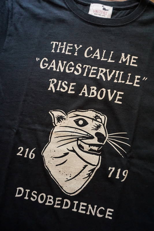 GANGSTERVILLE RISE ABOVE - S/S T-SHIRTS BLACK