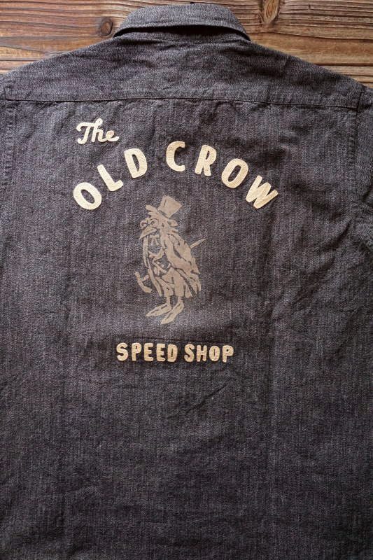 OLD CROW OLD CROW - L/S SHIRTS BLACK